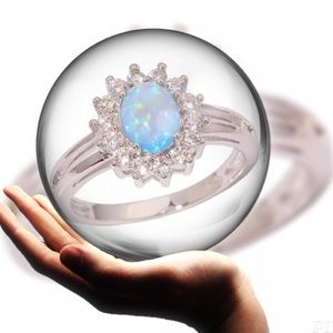 🎆COMING SOON🎆Darling Blue Fire Opal Ring